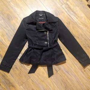 Black Rivet' Coat